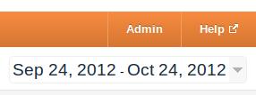 Google Analytics set date range