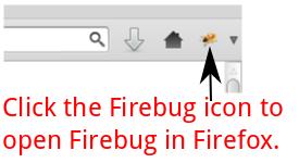 Open Firebug