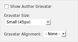 Genesis featured post widget - show authors gravatar.