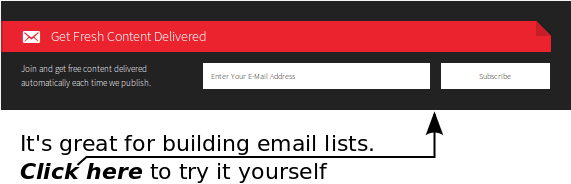 Generate Pro is great for building email lists. Click here to try it yourself