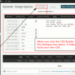 Open Dynamik Website Builder CSS builder