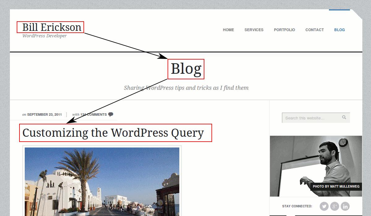 Customizing the wordpress home page query using Bill Erickson's code