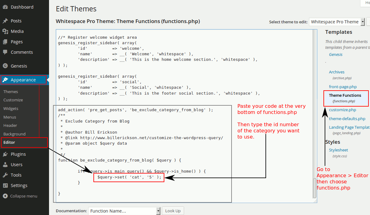 To customize the wordpress query we need to edit functions-php