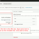 Make a link to a WordPress tag archive listing page
