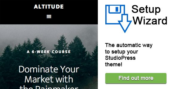 StudioPress Setup Wizard