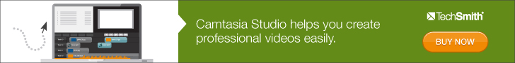 Camtasia the Screen-casting Software I use