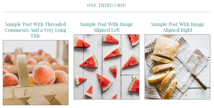 Foodie Pro Title Before Image Option