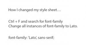 Parallax Pro Google Font CSS slide 1