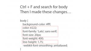 Parallax Pro Google Font CSS slide 2