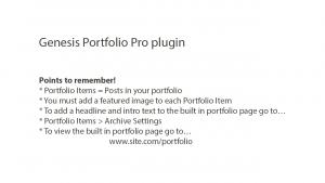 Slide a Genesis Portfolio Pro Plugin