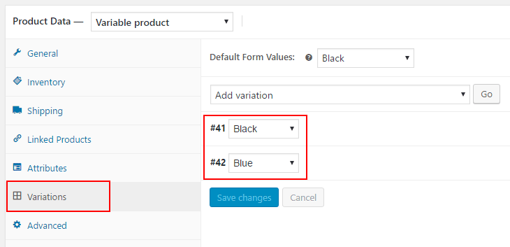 Attributes in Woocommerce Widgets and filters