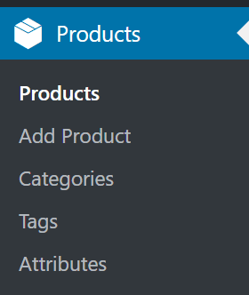 The WooCommerce Products Tab