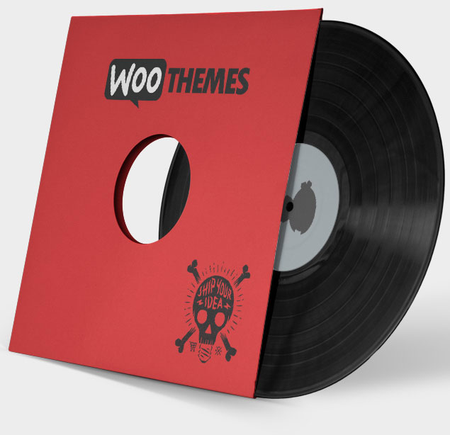 A vinyl record is a good example of a WooCommerce simple product