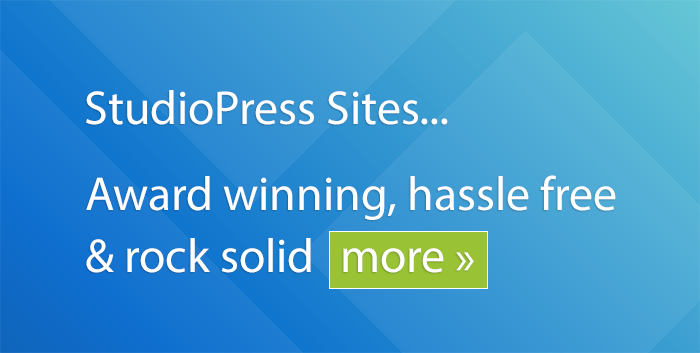 StudioPress Sites Banner