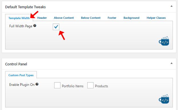 Beaver Builder default settings