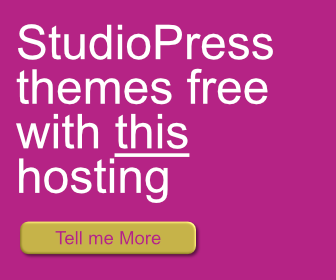 StudioPress themes Free with this hosting.