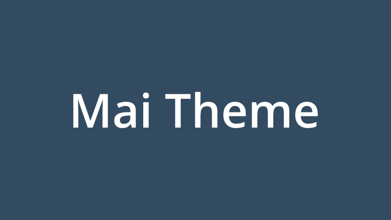 Mai Theme is a great alternative to the StudioPress themes package.